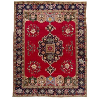 "Vintage Persian Rug, 9'6"" x 12'8"""