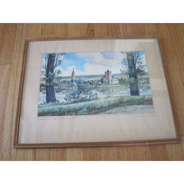 Zimmermann Vintage German Landscape Print - Image 2 of 11