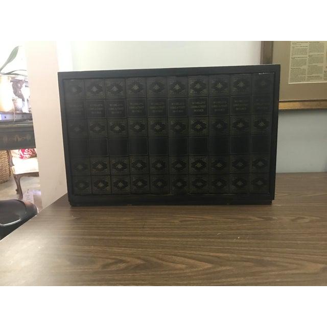 Image of Vintage Hidden Prohibition Bar Cabinet