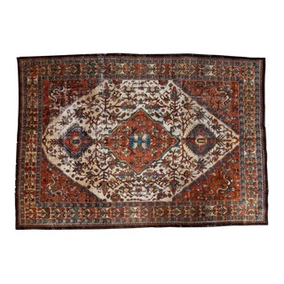 "Vintage Baktiari Crown Carpet - 7' X 10'4"""