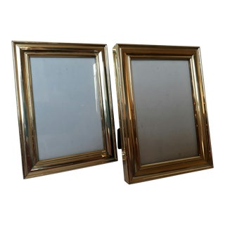 Brass Picture Frames -A Pair