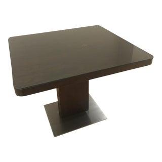 Desiron Black Walnut Square Dining Table