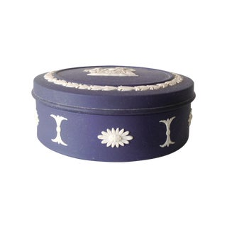Wedgwood Porcelain Bisque Lidded Trinket Box