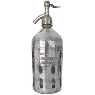 Vintage Montenegro Sanford Seltzer Bottle