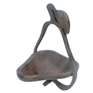 Collapsible Pear-Shape Basket