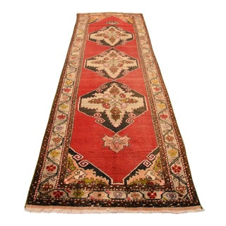 "Turkish Oushak Hand Knotted Runner - 43"" x 141"""