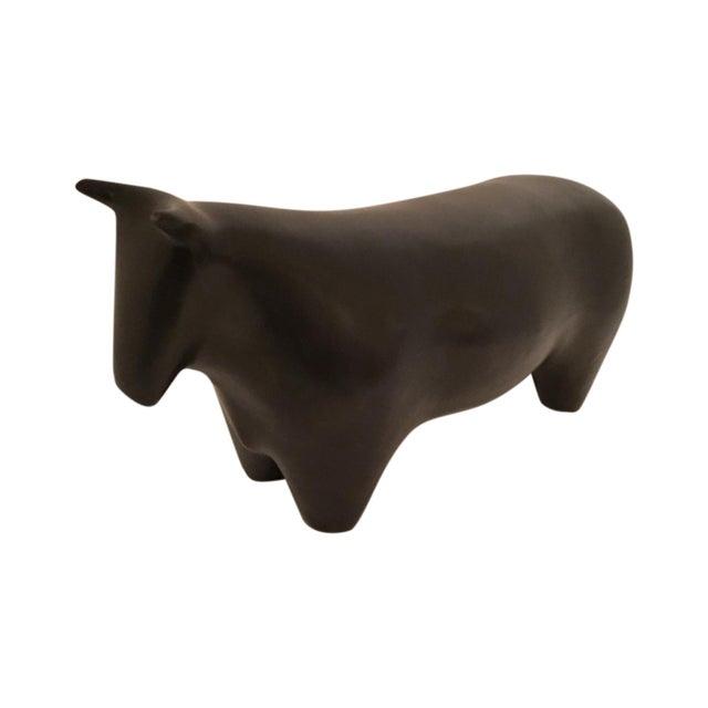 Image of Santa Monica Pottery Black Matte Bull