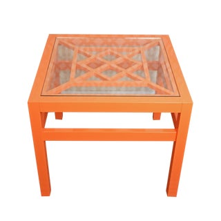 Oomph Knockout Orange Southport Side Table