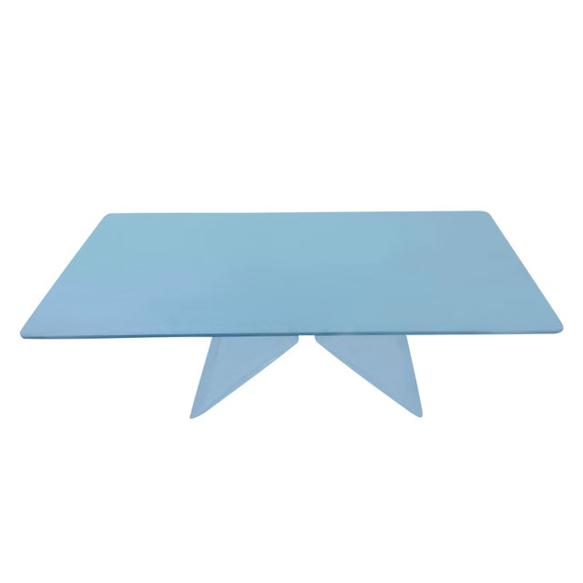 Image of Butterfly Lucite Coffee Table