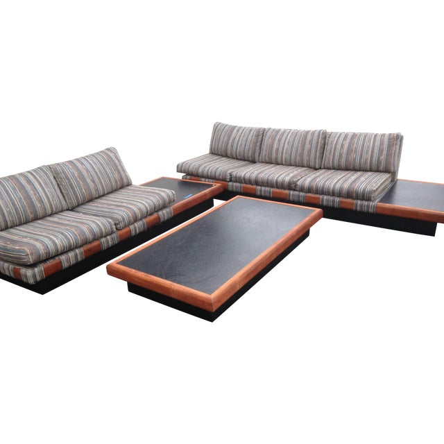 1960s Adrian Pearsall Platform Sofa and Table Set - Image 1 of 10