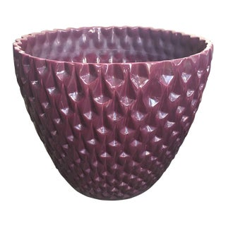 Purple Phoenix Planter by David Cressey