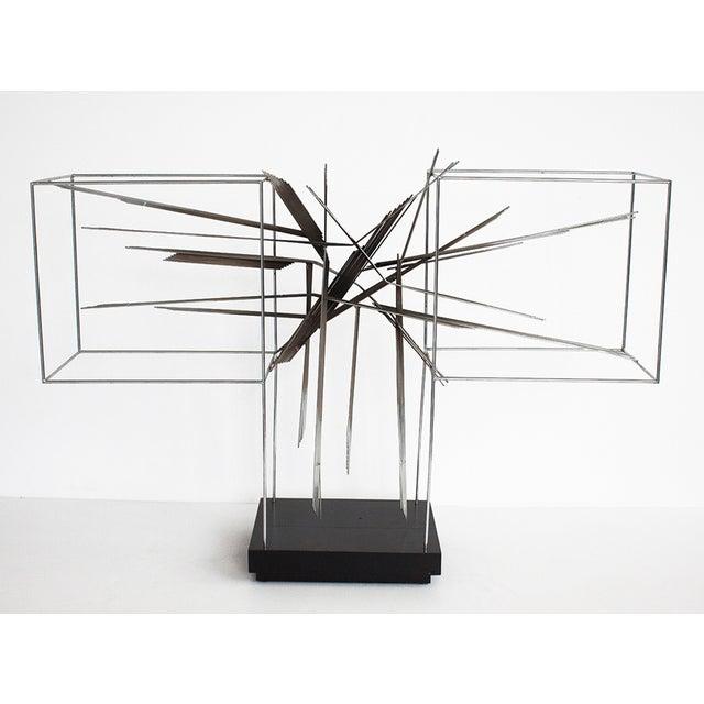 Curtis C Jere Chrome Burst Brutalist Sculpture - Image 2 of 10