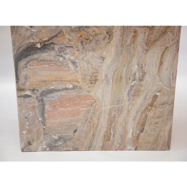 Variegated Marble Console Table - Image 10 of 10