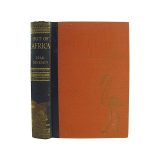 Out of Africa Book by Isak Dinesen