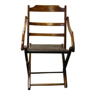 Civil War Campaign Chair