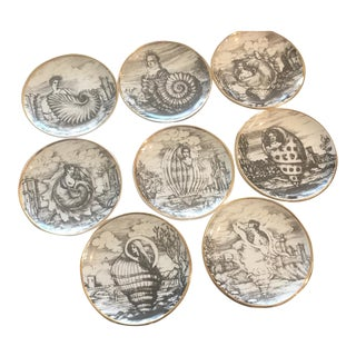 Fornasetti Vintage Cocktail Coasters - Set of 8