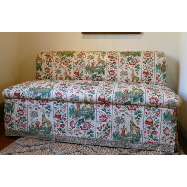 Custom Designer Sofa Banquettes - a Pair - Image 6 of 6