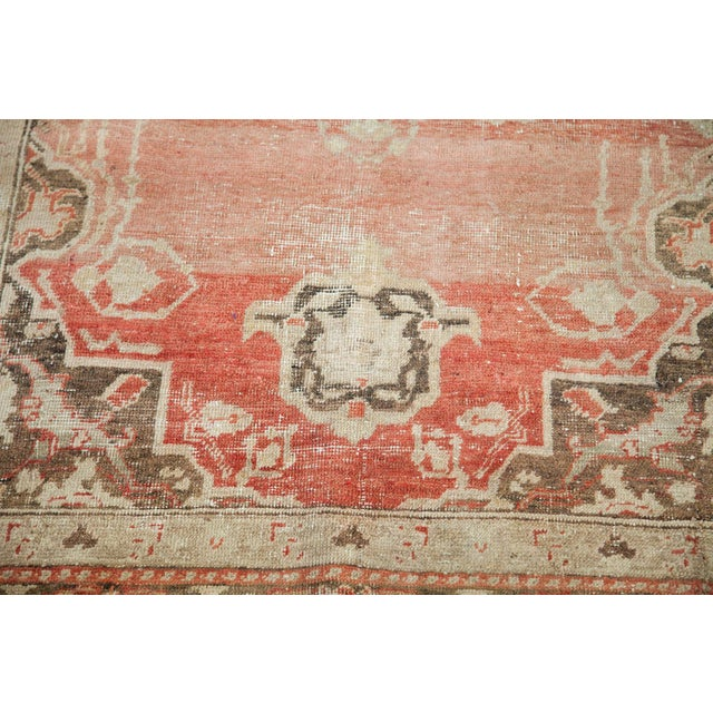 "Distressed Oushak Rug - 4' X 6'10"" - Image 3 of 6"