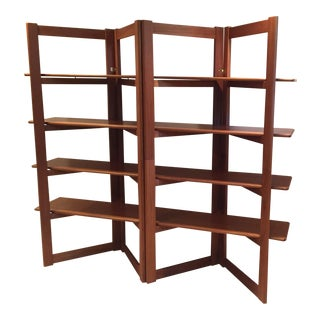 Danish Modern Teak Shelving Unit