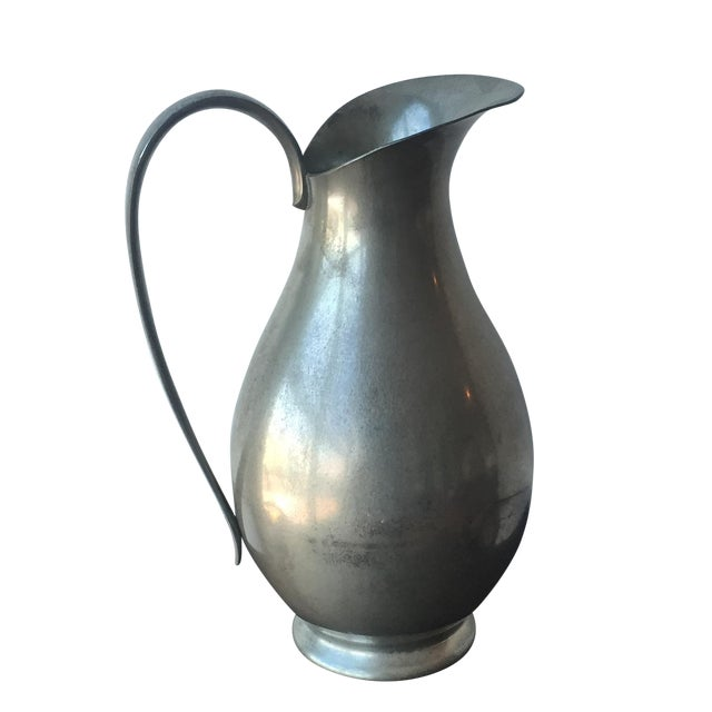 Pewter Pitcher - Image 1 of 10