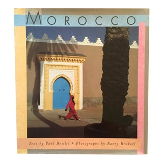 Vintage Morocco Travel & Culture Hardcover Book