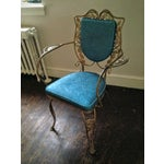 Image of Mid Century Hollywood Regency Accent Chair
