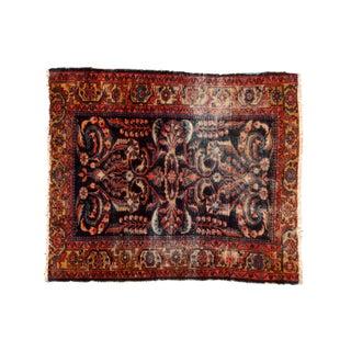 Vintage Persian Lilihan Square Rug - 5' x 6'