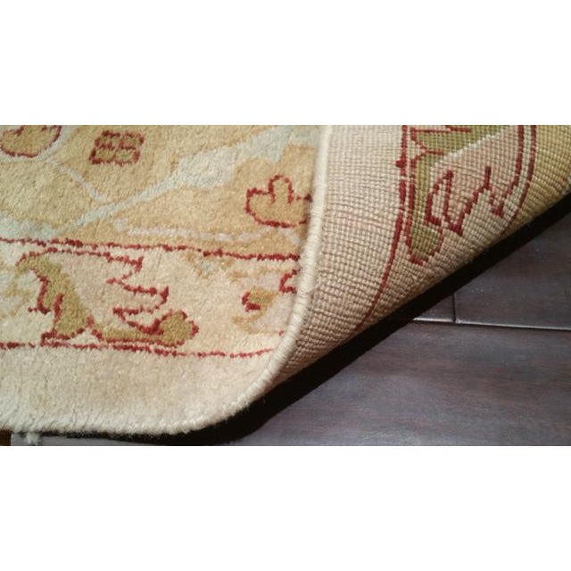 Traditional Hand Made Knotted Rug - 12x18 - Image 4 of 4