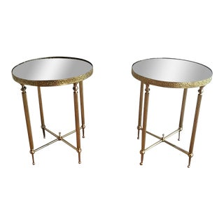 Pair of Hollywood Regency Occasional Tables