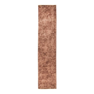 """Hand Knotted """"Vibrance"""" Runner Rug - 2' 7"""" X 12' 1"""""""
