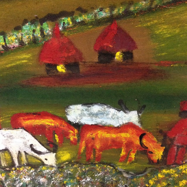 Original African Painting - Image 7 of 8