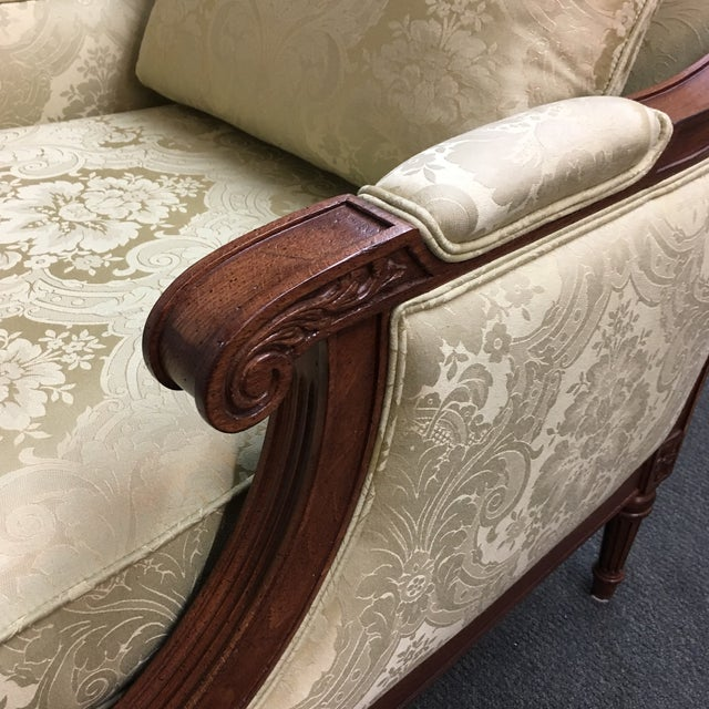 Ethan Allen Fairfax Arm Chairs - A Pair - Image 9 of 11