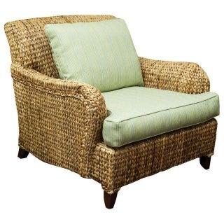 Palacek Seagrass Club Chair