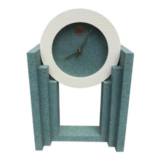 80s Memphis Style Clock