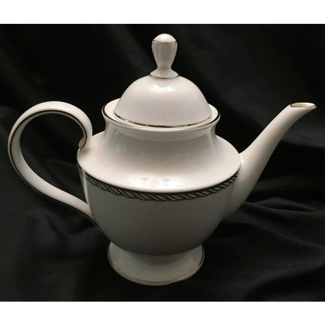 Lenox China Serpentine Teapot - Image 2 of 8