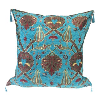 Blue Kilim Pillow Cover