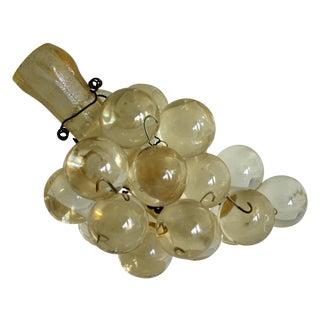 Clear Acrylic Grape Cluster