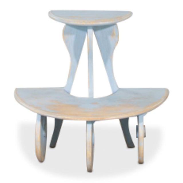 Sarreid Ltd Demilune Side Table - Image 3 of 5