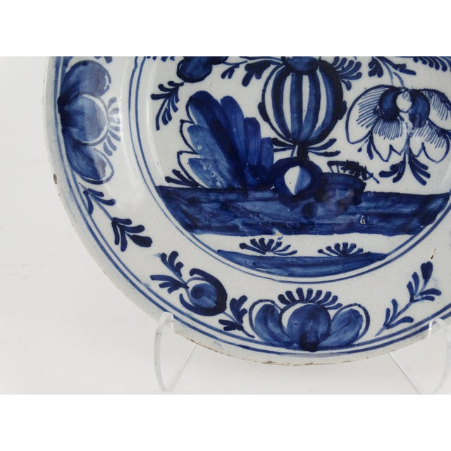 18th Century Dutch Delft Plate - Image 4 of 7