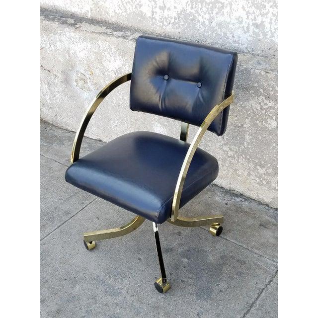 Vintage Milo Baughman Office Chair - Image 3 of 5