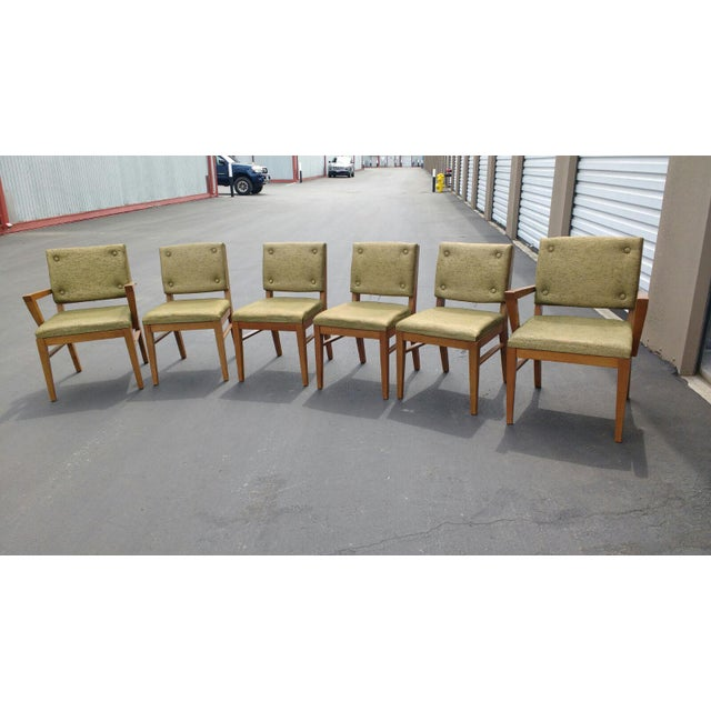 Mid-Century Dining Chairs - Set of 6 - Image 3 of 6