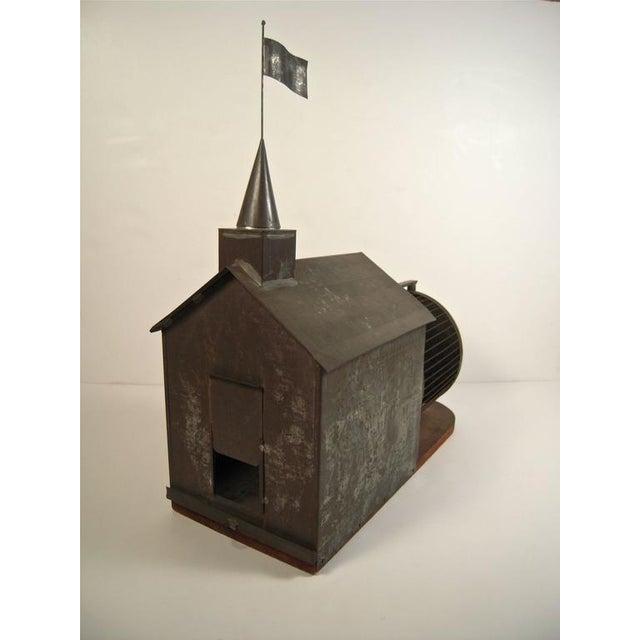 Rare 19th Century American Folk Art Architectural Squirrel Cage - Image 3 of 9