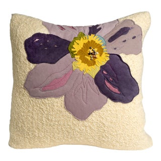 Hand-Woven Bloomers Pillow