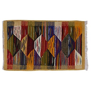 Moroccan Berber Kilim - 3'5'' x 2'