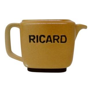 Vintage Ricard Pastis Pitcher