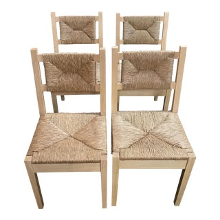 Wicker Dining Chairs - Set of 4