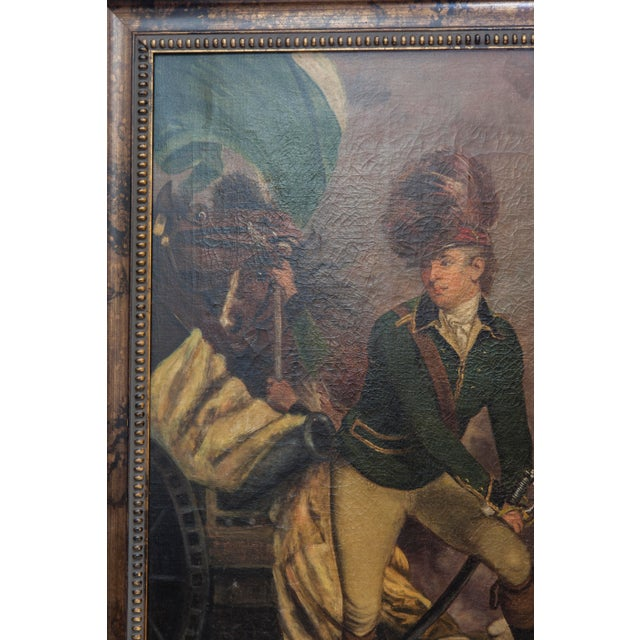 VIntage Reproduction Officer Painting - Image 5 of 10