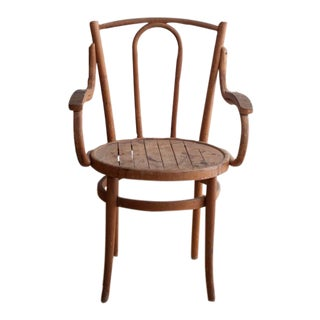 Vintage French Bentwood Armchair