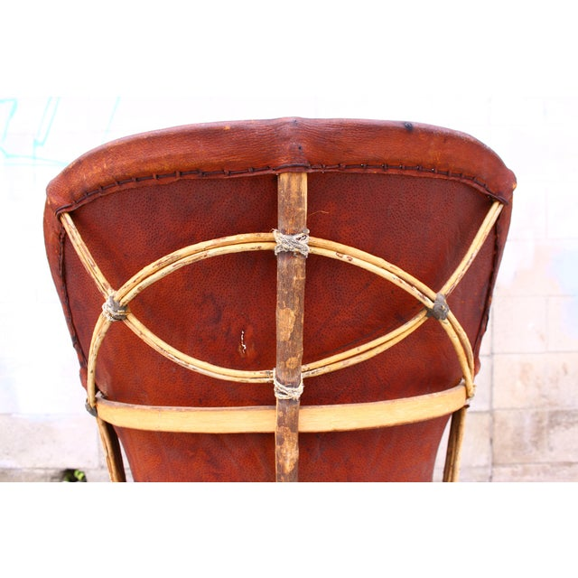 Vintage Mexican Pigskin Quot Equipale Quot Chair Chairish