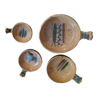 Mexico Tlaquepaque Nesting Chili Bowls - Set of 4